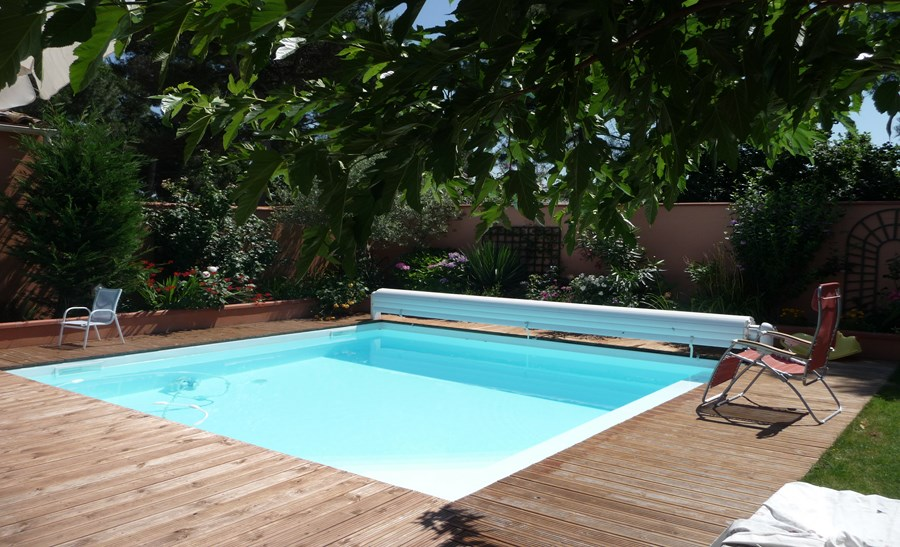 R alisations page 2 sur 3 techneau piscine for Piscine bois 5m