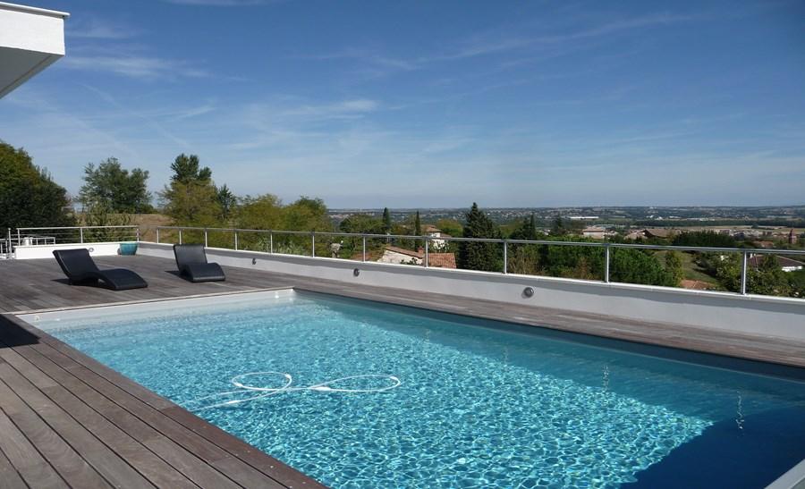 R alisations page 2 sur 3 techneau piscine for Equipement piscine beton
