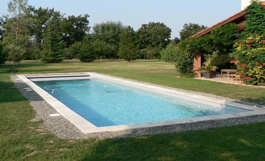 R alisations page 2 sur 3 techneau piscine for Piscine en travertin