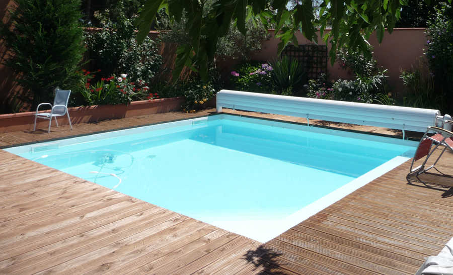 R alisations techneau piscine for Liner piscine diametre 3 50